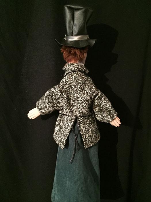 sculpteur marionnettes gnafron