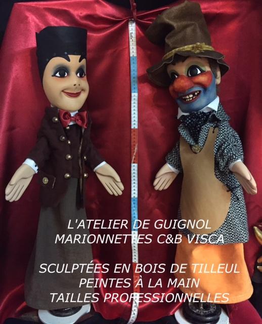 sculpteur de guignol, gnafron, gendarme