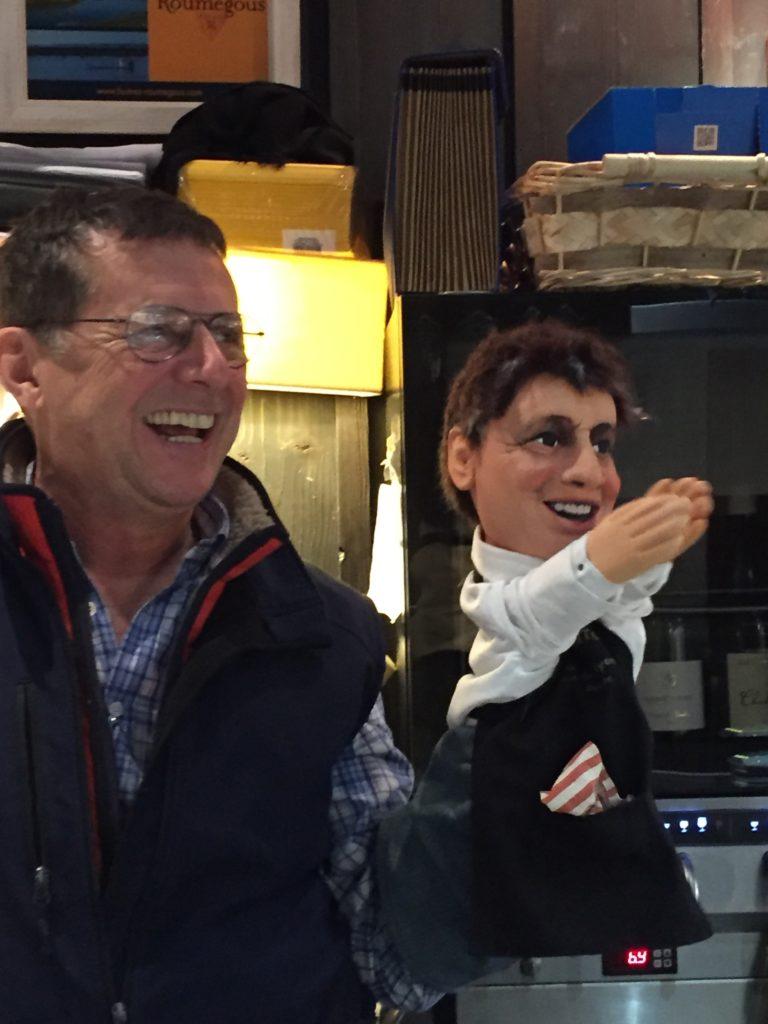 marionnette chez antonin restaurateur