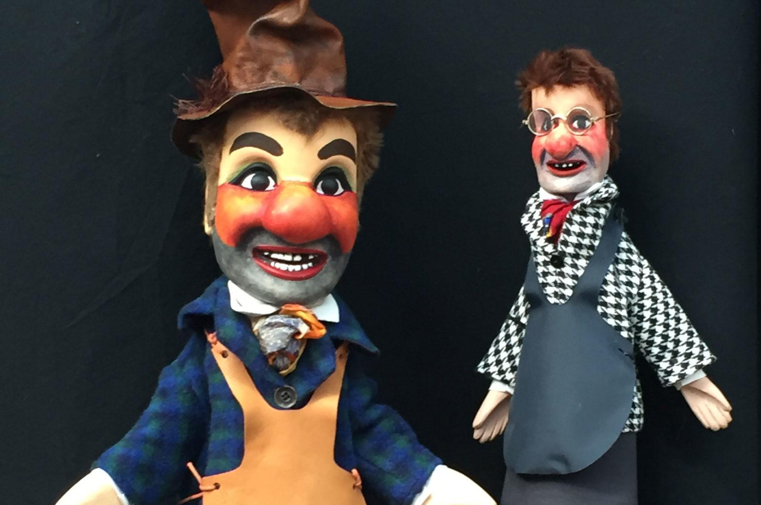 Sculpteur marionnette bois gnafron