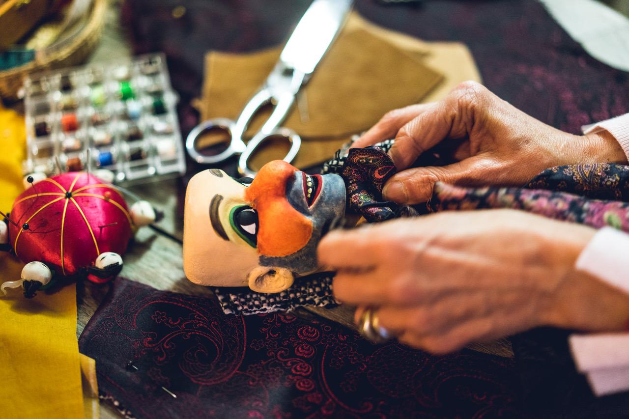 Fabrication marionnette gnafron